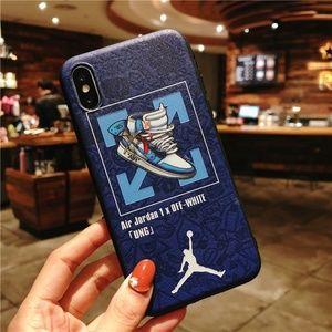 Air Jordan 1 off white UNC iPhone XS Max TPU case